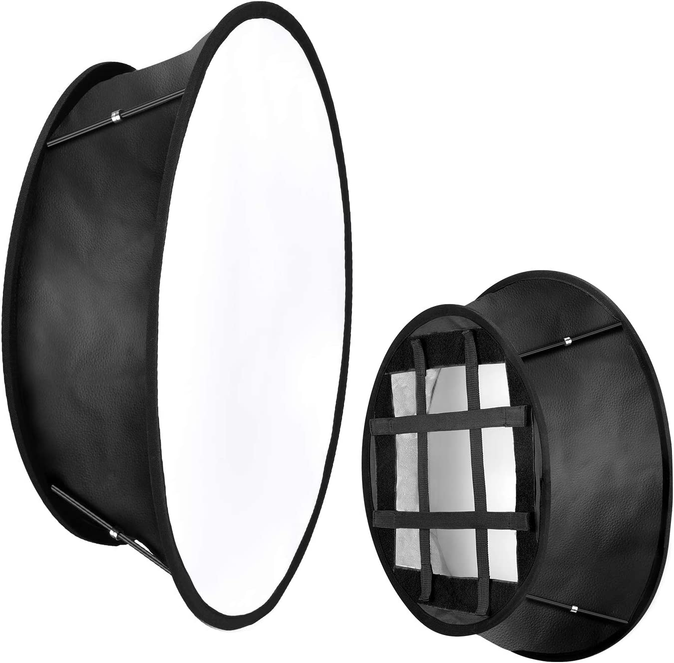 Neewer Collapsible Softbox Diffuser Compatible with Neewer 480//660//530 LED Light Panels 11.5x11.5inches Opening with Strap Attachment and Carry Bag for Photo Studio Portrait Video Shooting