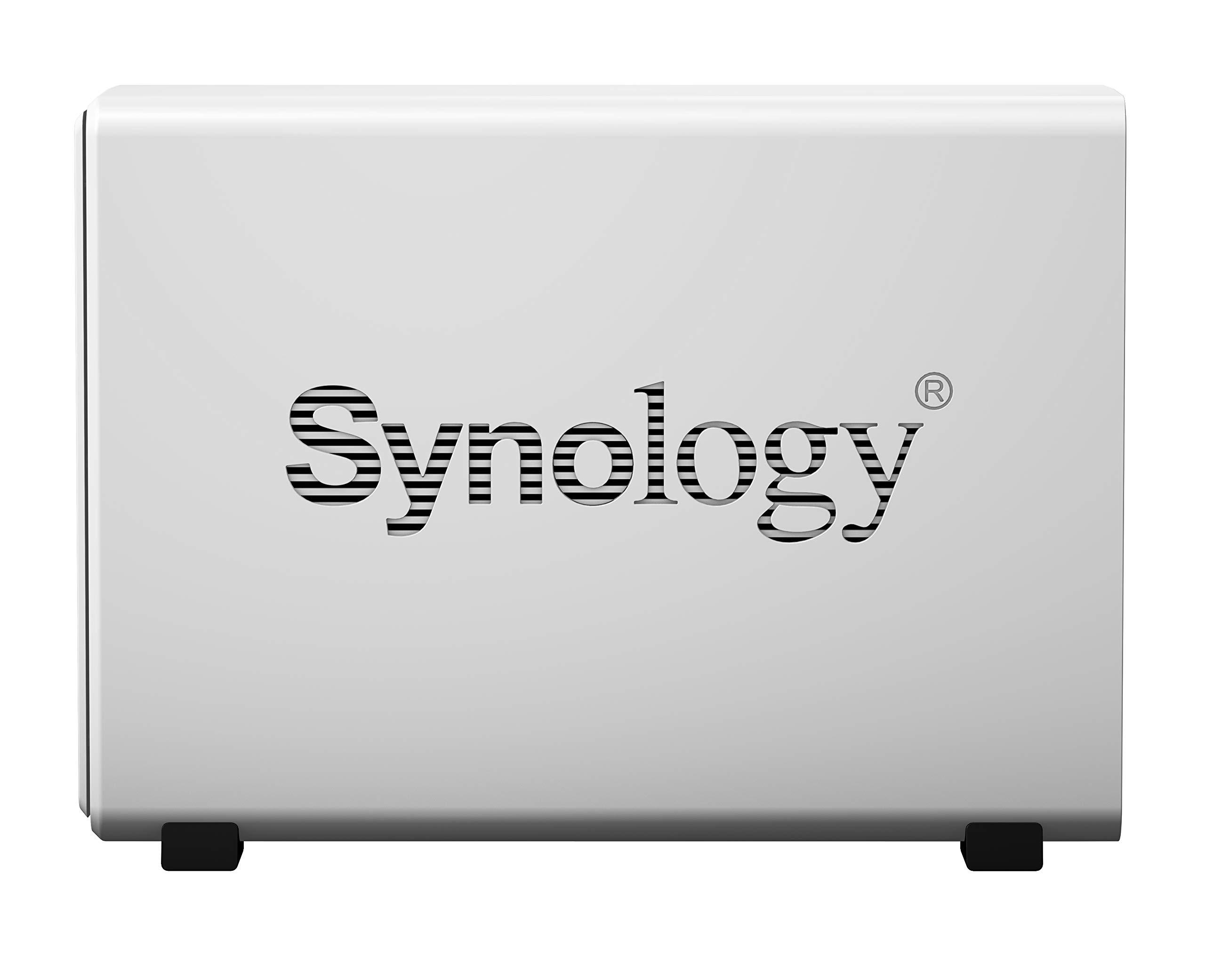 Synology 1 Bay NAS DiskStation (DS119j), 1-Bay; 256MB DDR3L by Synology (Image #5)