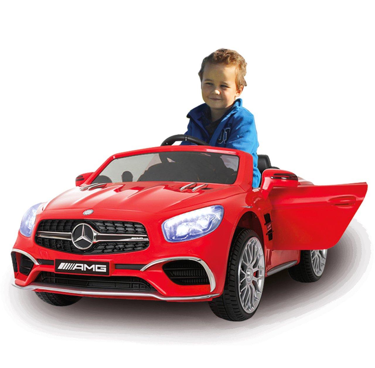 Jamara Ride on Mercedes SL65 12 V - 2,4 GHz, Color Rojo (460294): Amazon.es: Juguetes y juegos