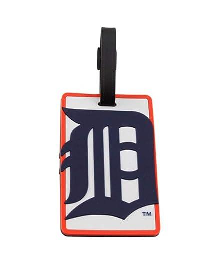 pretty nice 70813 7e7a3 Amazon.com   aminco Detroit Tigers - MLB Soft Luggage Bag Tag   Mens  Luggage Tags   Sports   Outdoors