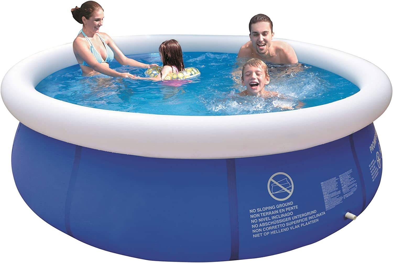 Saica Piscina, Color Azul y Blanco (10202): Amazon.es: Juguetes y ...