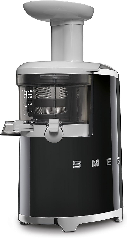 Smeg 50's Retro Style Aesthetic Slow Juicer, Black