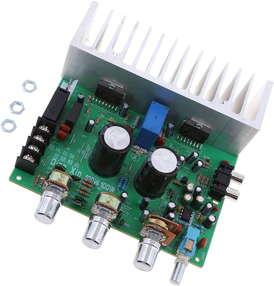 H HILABEE Tarjeta De Desarrollo del Módulo De Amplificador De Canal Dual DA7294 100W Audio Power Nuevo: Amazon.es: Electrónica
