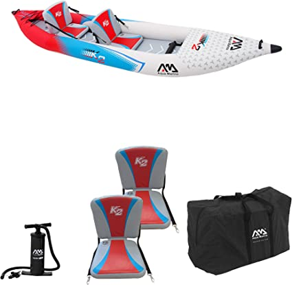 Amazon.com: Aqua marina kayak de 2 persona inflable ...