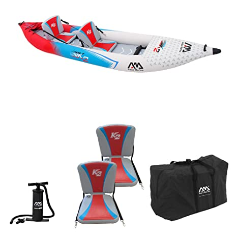 Aqua Marina 05.435.01 Kayak 2 POSTI AQUAMARINA Betta VT-K2, Multicolor, L 76.5 x H 31.5 x W 53.5 Cm