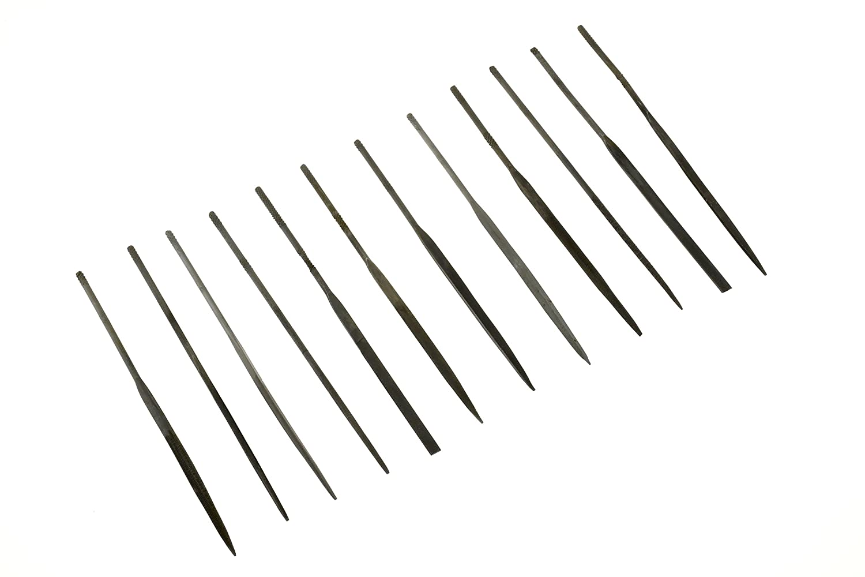 12/St/ück 2/mm x 100/mm SE 7382/NF Premium Qualit/ät Nadelfeilen-Set
