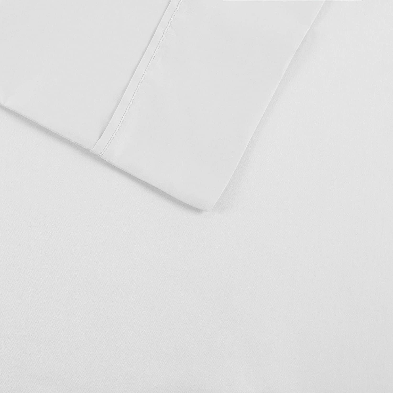 Madison Park 1500 Thread Count Cotton Blend Sheet Set White Queen MP20-4840
