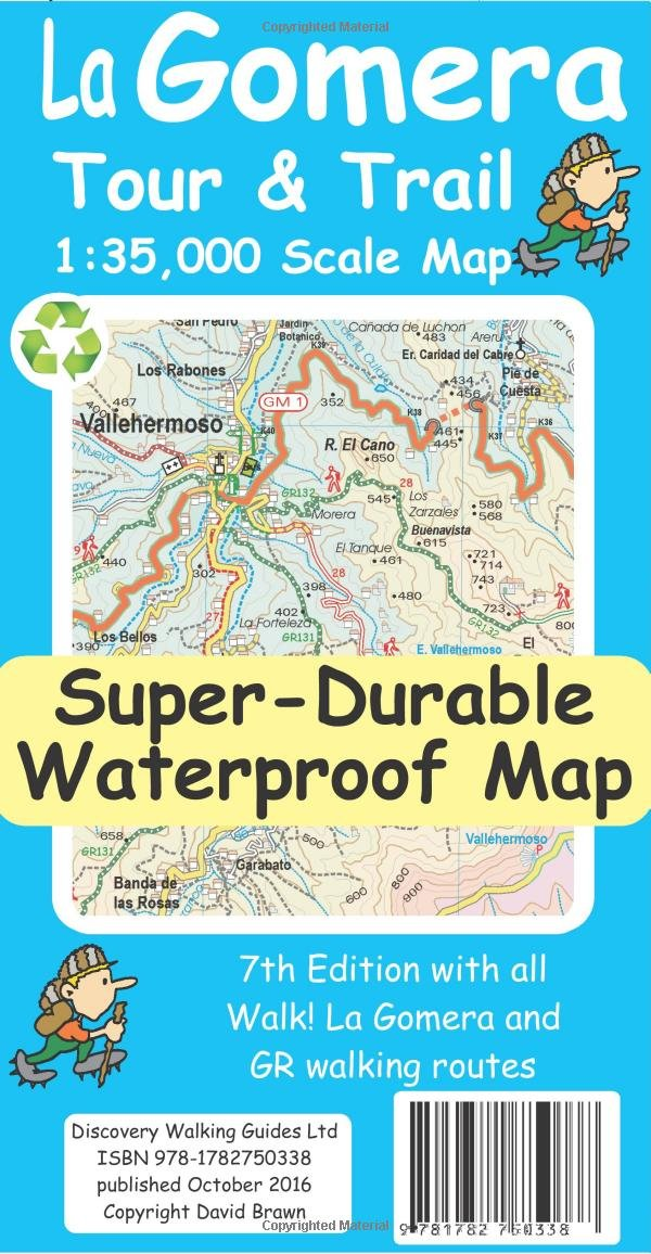 la-gomera-tour-trail-super-durable-map-7th-ed
