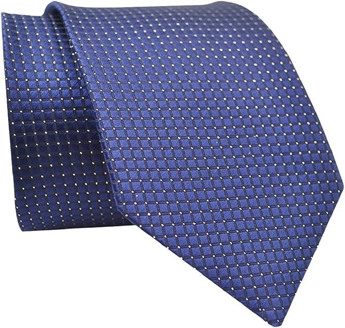 Jiacheng29 - Corbata - para hombre Azul azul marino Talla única ...