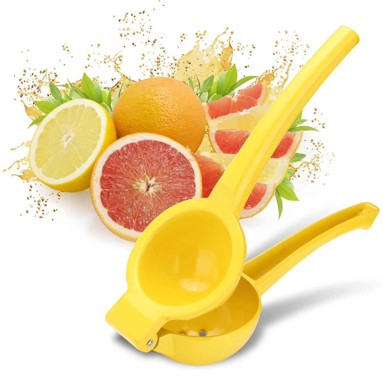 INTEY Zitronenpresse Limettenpresse Saftpresse Zitruspresse für Zitronen Orangen