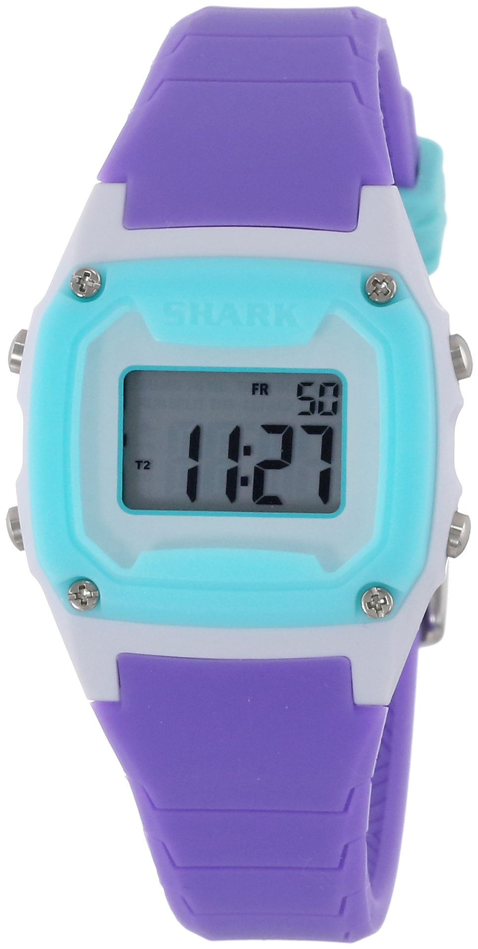 Freestyle Shark Mini Turq/Pur/Wht Unisex Watch 10006633 by Freestyle