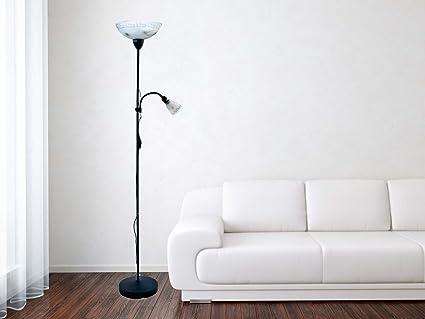 Lampadaire Avec Liseuse De Style Maison De Campagne Luminiare