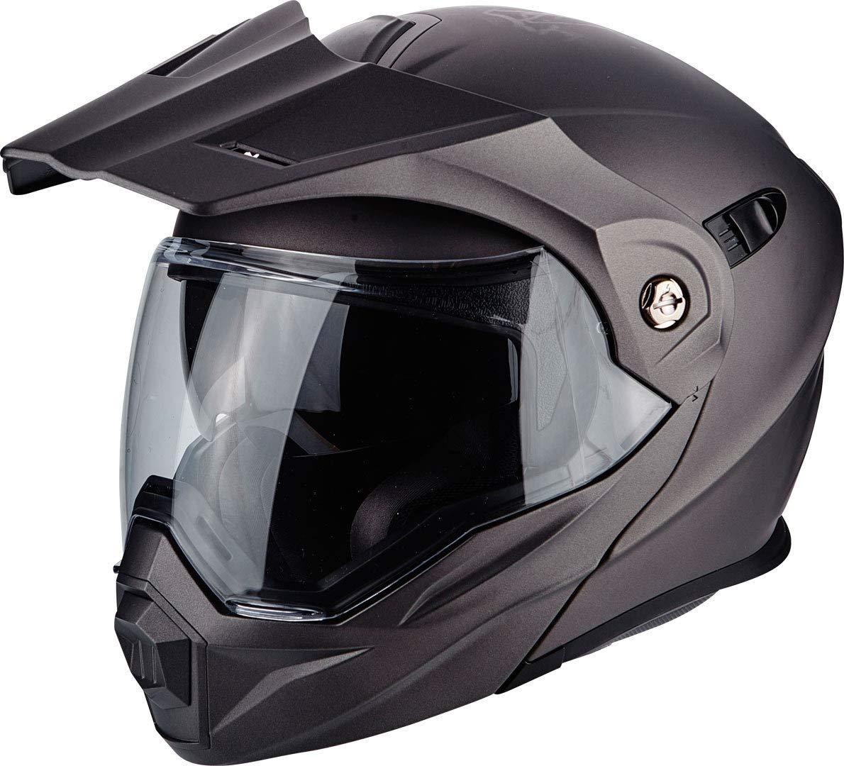 Scorpion ADX 1 SOLID Matt Motorcycle Helmet Black Size L