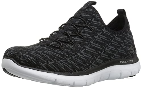 Skechers Flex Appeal 2.0- Insights Mujer US 5.5 Negro FWu8DNV