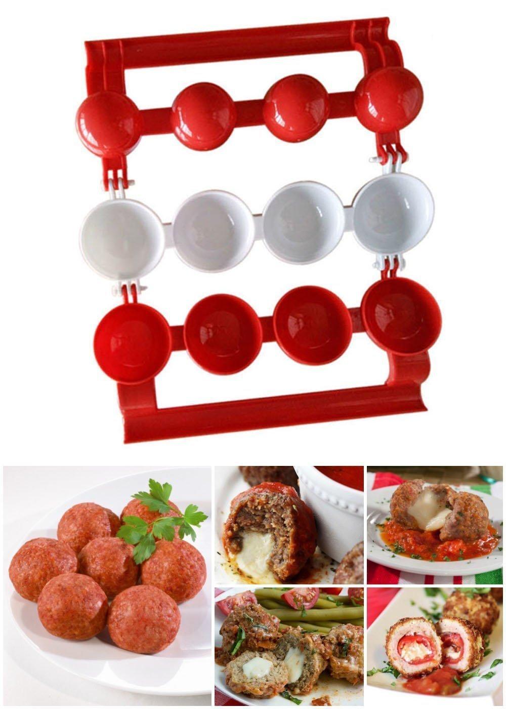 CSMARTE Meatballs Maker Meatball BPA Free Kitchen Maker Pro Homemade Stuffed Meat Balls Maker