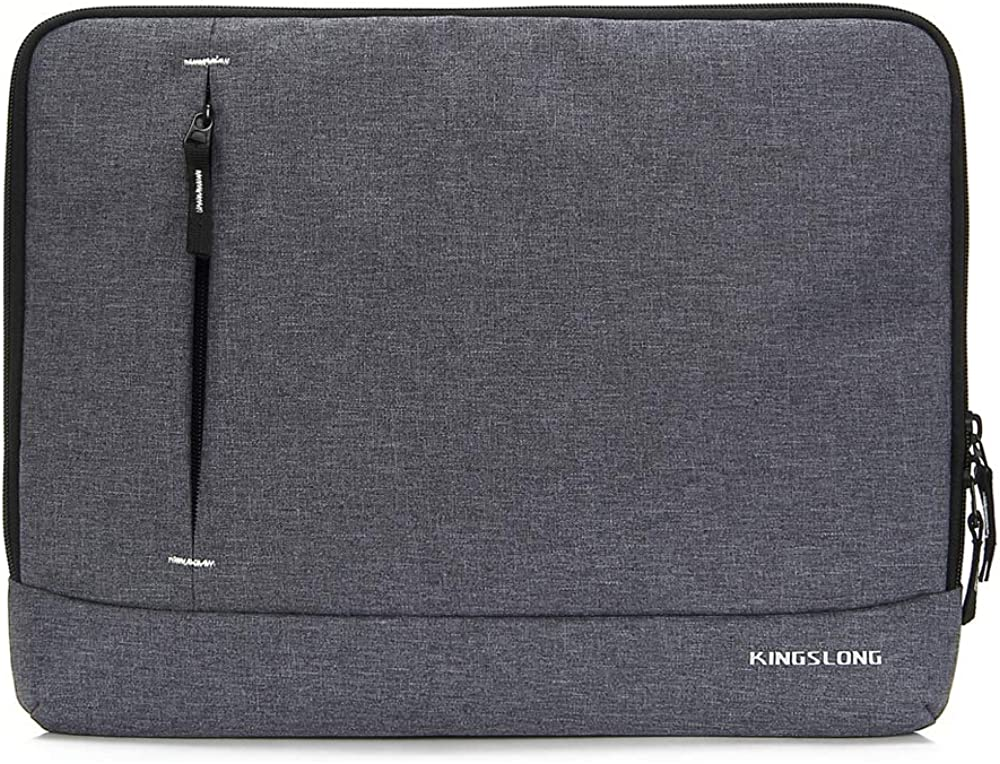 KINGSLONG Slim Laptop Sleeve Case for Women and Men Carrying Handbag Cover Fit Up to 15.6 Inches