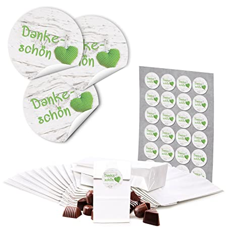 48 Kleine blanca kekstüten Galletas bolsas bolsas de papel ...