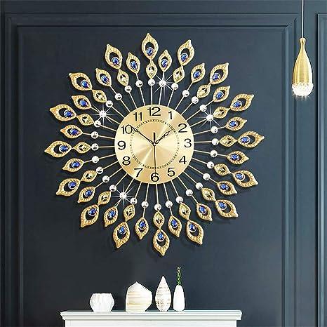 Clock Wall Mirrored DIY Home Decor Modern Room Silent Clocks Living Decorative S
