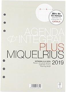 Miquelrius 24041 - Agenda anualidad plus semana vista ...