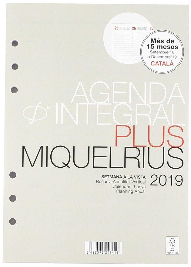Miquelrius 24341 - Agenda anualidad plus semana vista ...
