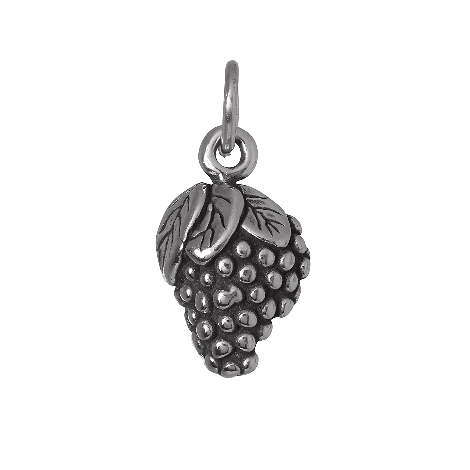 TheCharmWorks Sterling Silver Bunch of Grapes Charm