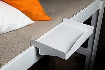 bedside buddy. Plain Buddy Bunk Buddy Bedside Shelf  White Throughout