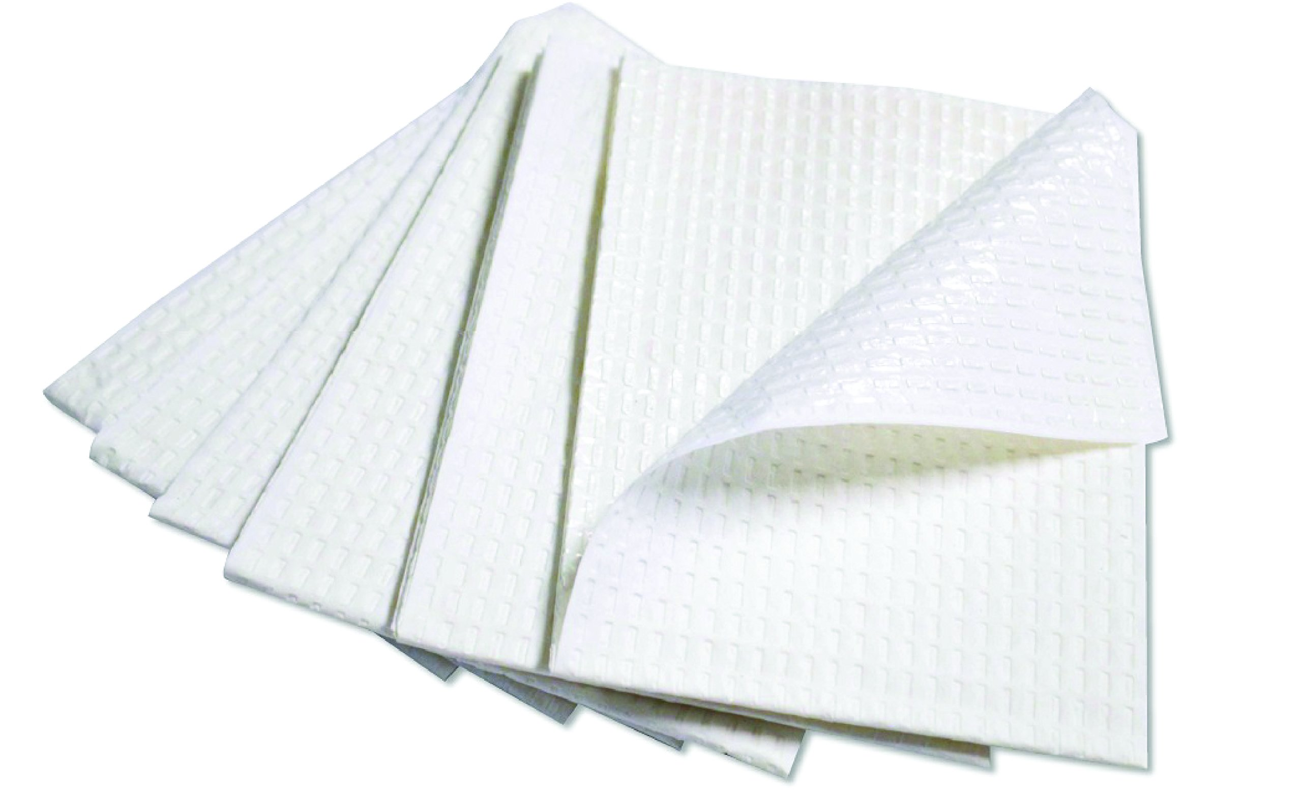 Avalon Papers 1051 Dental Bib Polyback Towel, 2-Ply Tissue + Poly, 13'' x 18'', White (Pack of 500)