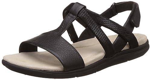 Hush Puppies Women's Taila Aida Leather Fashion Sandals Fashion Sandals at amazon
