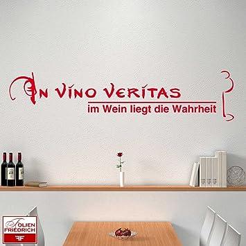 W271 (58x13cm) kupfer-metallic - In vino veritas ...