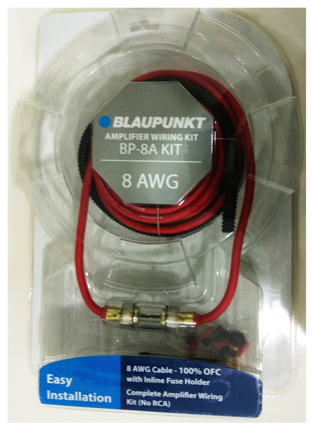 Blaupunkt BP-4A 4 Gauge Amplifier Wiring Kit (100% OFC)
