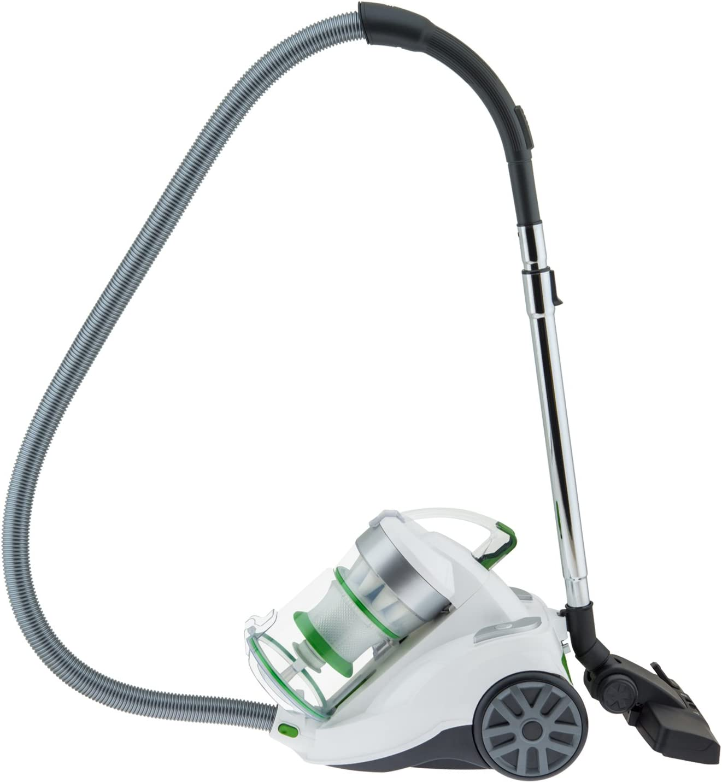 2 liters H.Koenig Powerful Vacuum Cleaner AXO940 Aluminium Green /& Silver