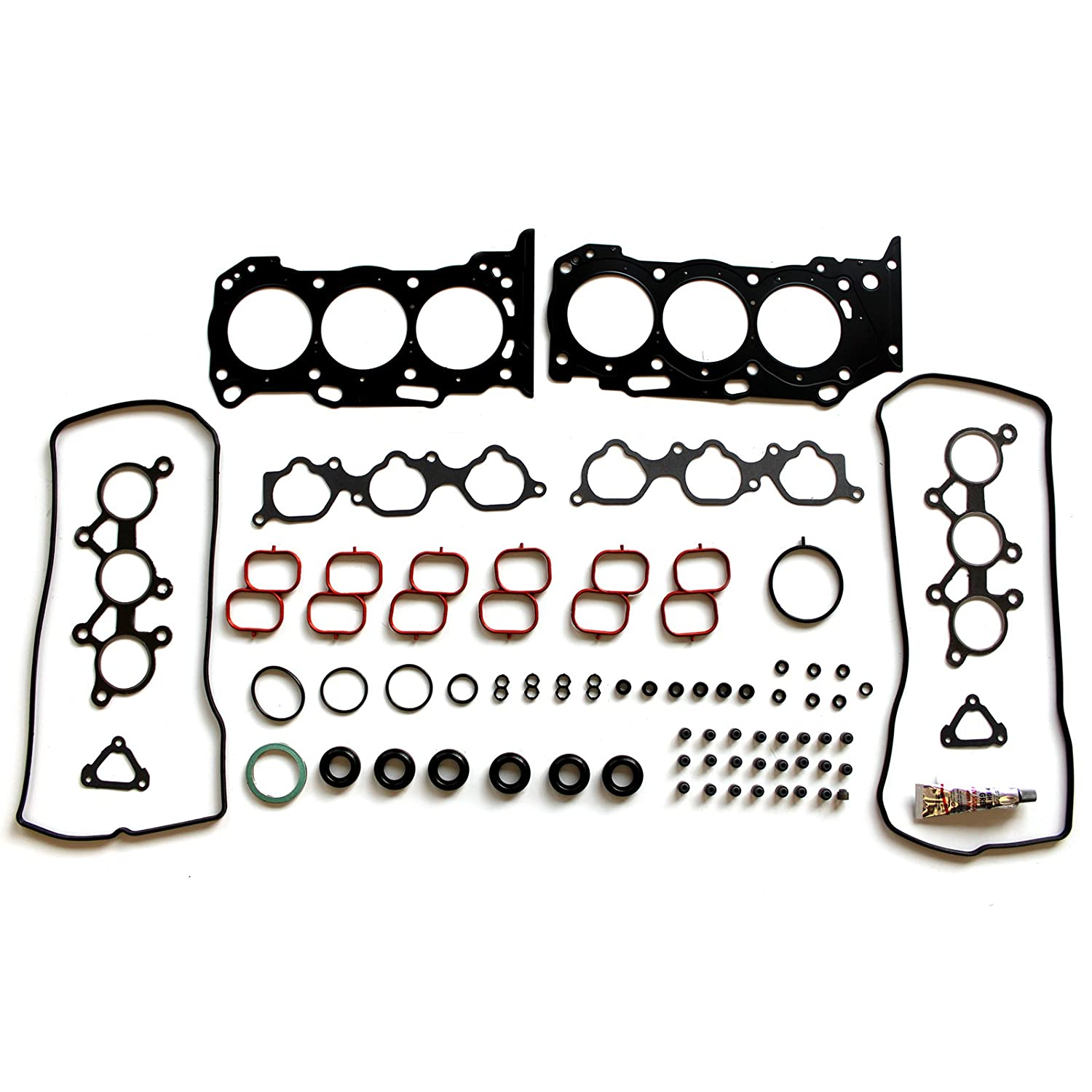 Amazon.com: ECCPP Compatible fit for Head Gasket Kit for 2007-2015 Lexus  ES350 RX350 Toyota Camry Toyota Sienna 3.5L V6 Engine Valve Covers Gaskets  Kits: ...