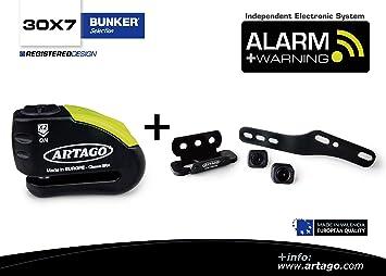 Artago 30X7 Antirrobo Disco Alarma 120 db Alta Gama y ...