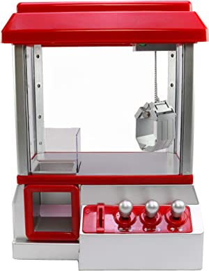 Claw Machine For Kids - Fill The Toy Claw Machine With Prizes, Candy, Small Toys - Fun Gift, Party Game For Children - Electronic Claw Toy Candy Grabber Crane Machine With Led Lights And Sound Effects