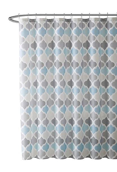 Amazoncom Vcny Home Universal Bathroom Fabric Shower Curtain For