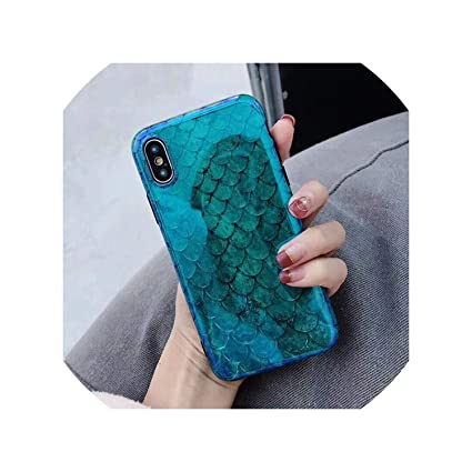 Amazon.com: Blu Ray - Carcasa para iPhone Xs, XR, XS, Max X ...