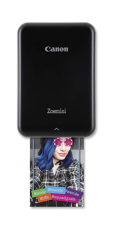 Canon Bluetooth 4.0, batteria integrata, fino a 10 fogli di carta fotografica Canon bianco Zoemini - White