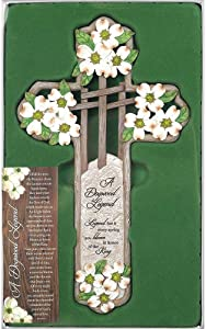Dicksons Dogwood Legend Spring Bloom King 12 Inch Resin Gifting Boxed Wall Cross