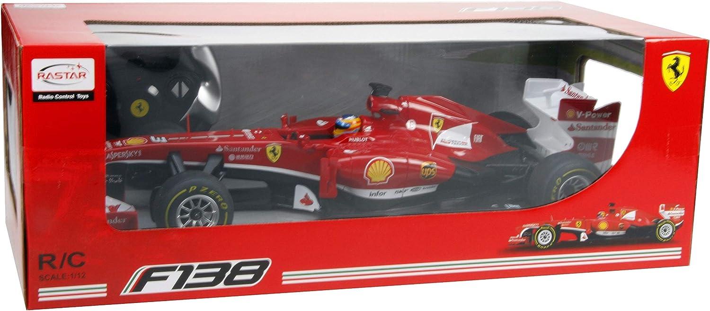 1:12 Ferrari F1 57400 Remote Control Red Car Model