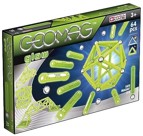 Geomag 336-Classic Glow, 64 Pcs, 336