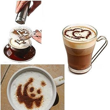 Vdk Set Praktische Kaffee Schablone Filter Kaffeemaschine Cappuccino ...