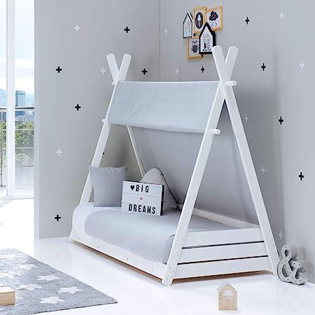 ALONDRA – Camita cabaña Montessori infantil para niños 70x140 ...