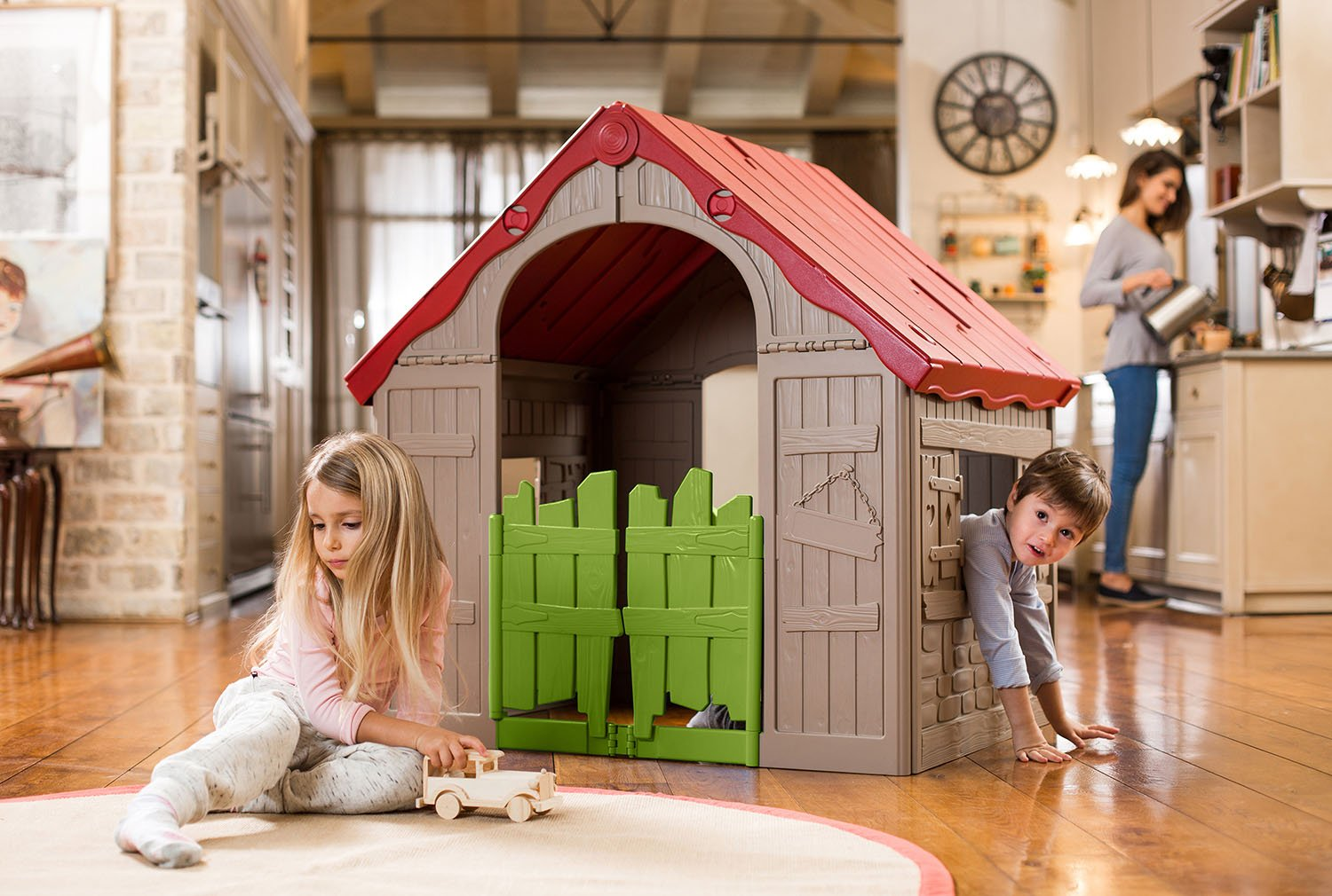 Top 11 Best Kids Outdoor Playhouses in 2020 Reviews 5