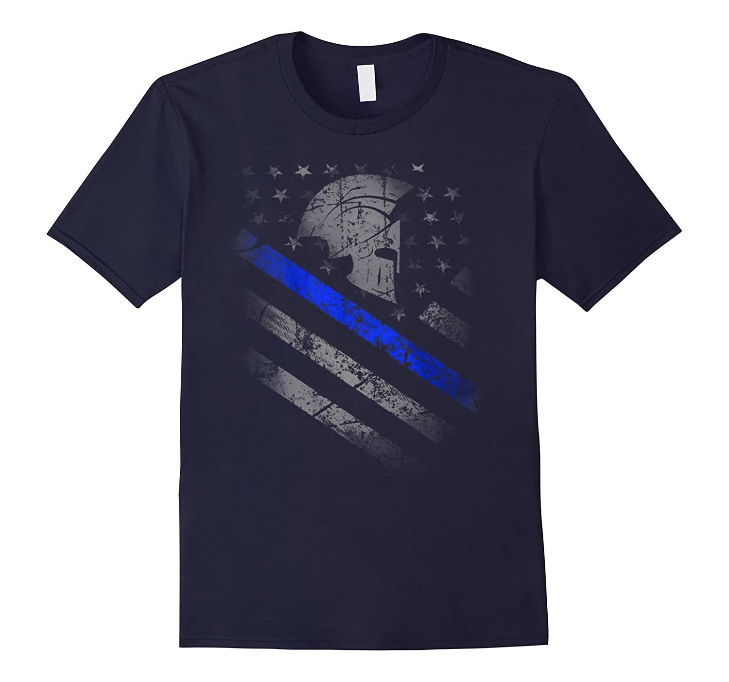 Blue Line Spartan shirt-RT