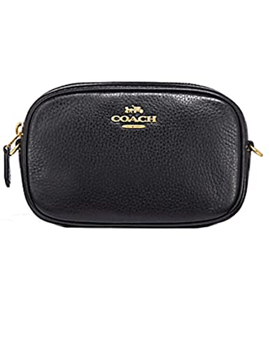 ecaea62738 COACH CONVERTIBLE BELT BAG BLACK (F34805): Handbags: Amazon.com