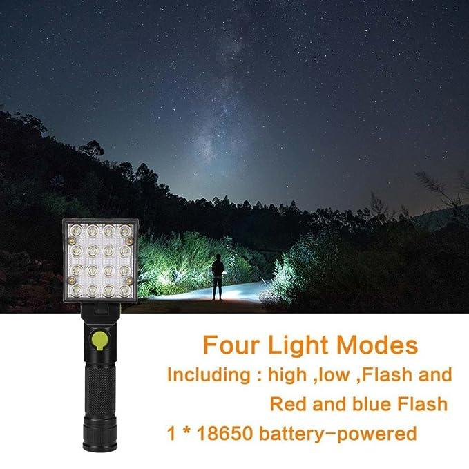 16 LED Magnético Supp erhell linterna, siswong plegable USB recargables Manos Libres trabajo lámpara Inspección Leuchten con gancho: Amazon.es: Bricolaje y ...