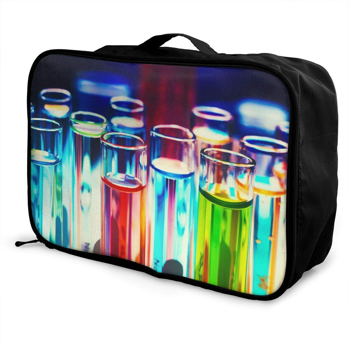 Lightweight Large Capacity Portable Duffel Bag for Men /& Women Chemistry Science Lab Travel Duffel Bag Backpack JTRVW Luggage Bags for Travel