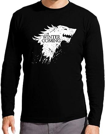 Camiseta Manga Larga de Hombre Juego de Tronos Tyrion Snow Dragon Daenerys Stark 117: Amazon.es: Ropa y accesorios