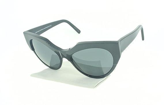Amazon.com: Andy Wolf Joy Cat Eye Sunglasses Acetate Frames (Black ...