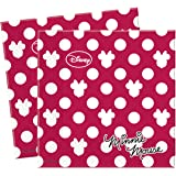 Fashion Disney Minnie Mouse Paper Napkins, Pack of 20
